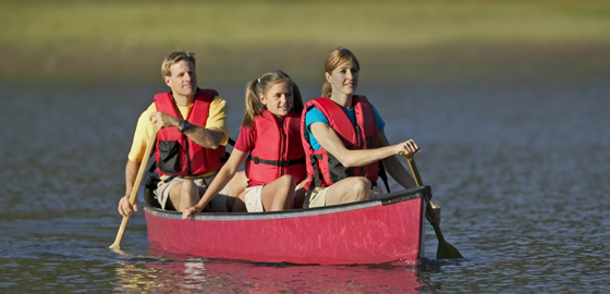 Paddle and Rowing raft rentals